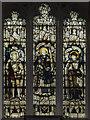 SK7694 : Stained glass window. All Saints' church, Misterton by Julian P Guffogg
