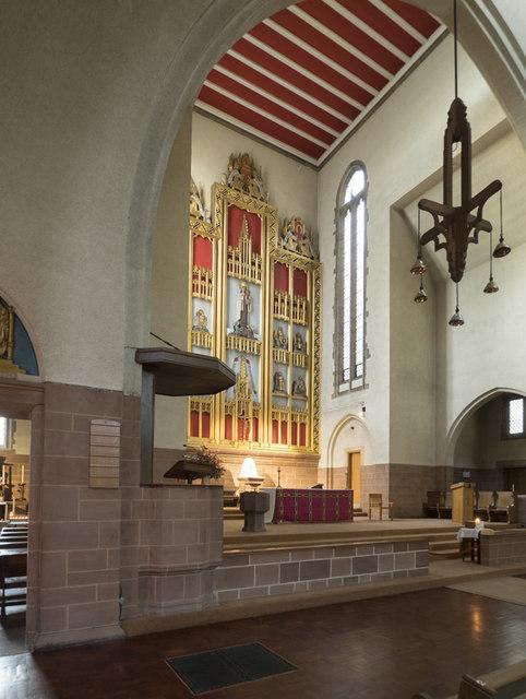 Our Lady of Mount Carmel & St Simon Stock, Kensington - Interior