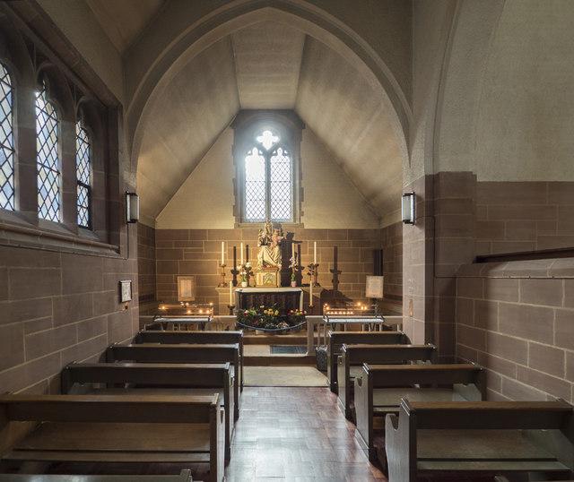 Our Lady of Mount Carmel & St Simon Stock, Kensington - North chapel