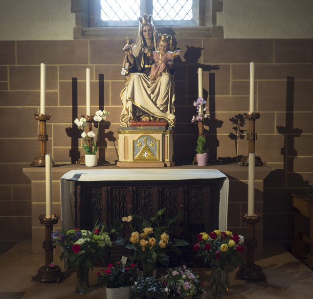 Our Lady of Mount Carmel & St Simon Stock, Kensington - Shrine