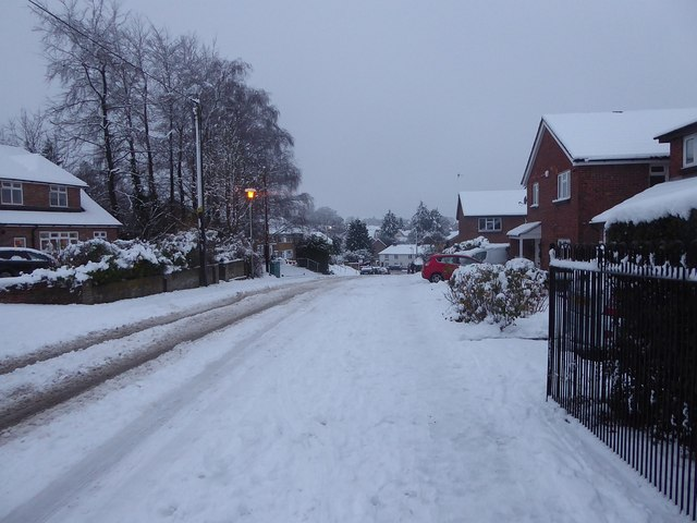 Mortimer Hill, Tring in the snow