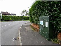 ST0981 : BT telecoms cabinet, Bronllwyn, Pentyrch by Jaggery