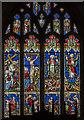 SK7792 : East window, St Mary Magdalene, Walkeringham by Julian P Guffogg