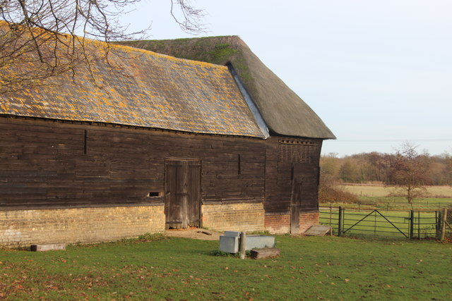 Loose boxes and shed, Wimpole Hall Farm