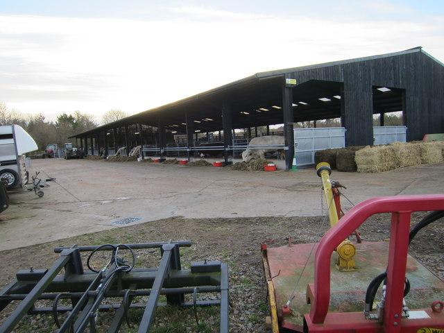 Cow barn, Wimpole Hall Farm