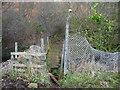 SE0829 : Footbridge over Strines Beck by Humphrey Bolton