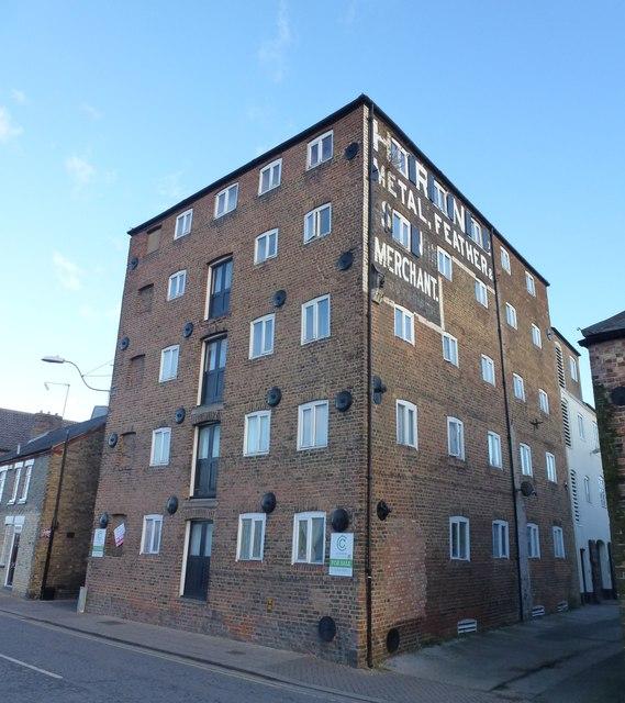 The Horace Friend warehouse on Nene Quay in Wisbech