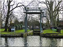 TL0549 : Bedford Lock by Robin Webster