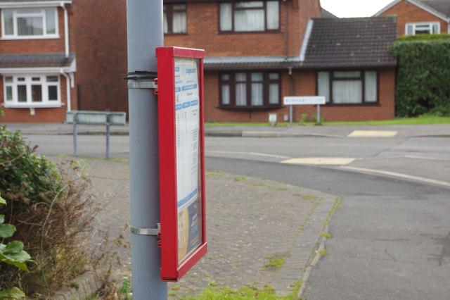 Bus timetable - Frensham Drive
