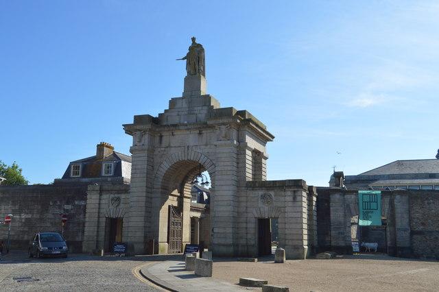 Royal William Yard - Main Gate