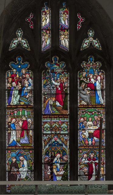 West window, St Mary Magdalene church, Walkeringham