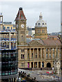 SP0686 : Clock tower and dome in Birmingham city centre by Roger  Kidd
