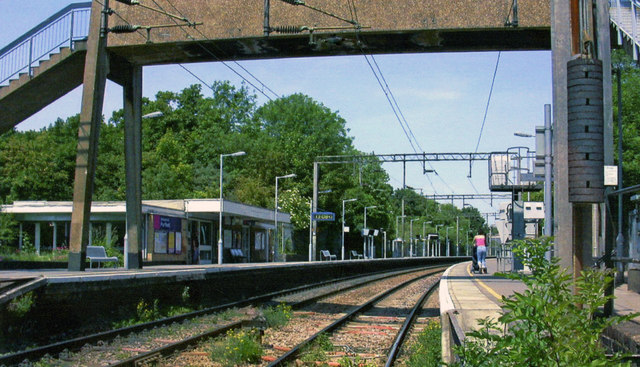 Purfleet station, 2005