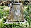 SJ8397 : St John's Cross: Base inscription (2) by Gerald England