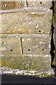 SE0339 : Benchmark on New Laithe Farmhouse by Roger Templeman