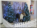SJ4066 : A reindeer in the Grosvenor Precinct by John S Turner
