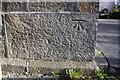 SE0239 : Benchmark on Slack Lane Baptist Church by Roger Templeman