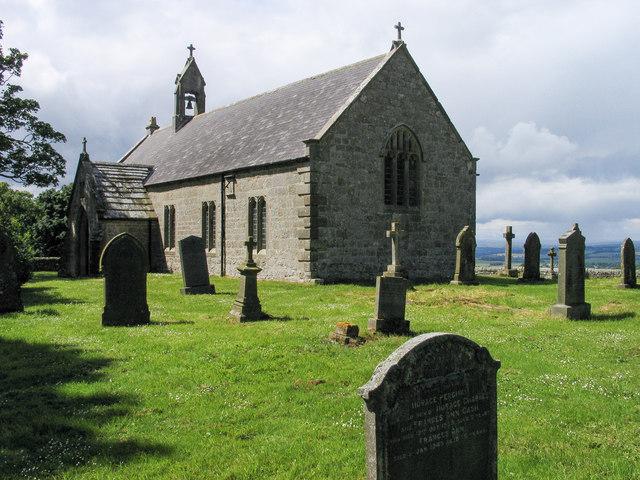 Church of St Oswald, Heavenfield, near Wall