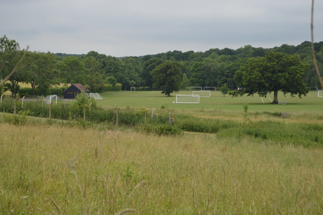 Sports pitches, Ardingly College