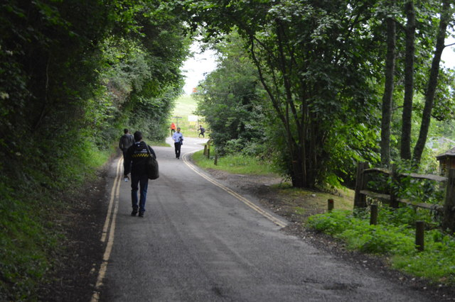 Road to Ardingly Reservoir