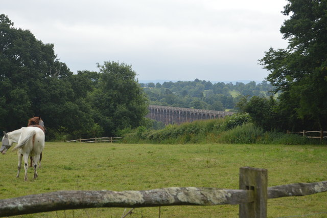 View to Ouse Valley Viaduct