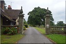 TQ3228 : Gateway, Balcombe Estate by N Chadwick
