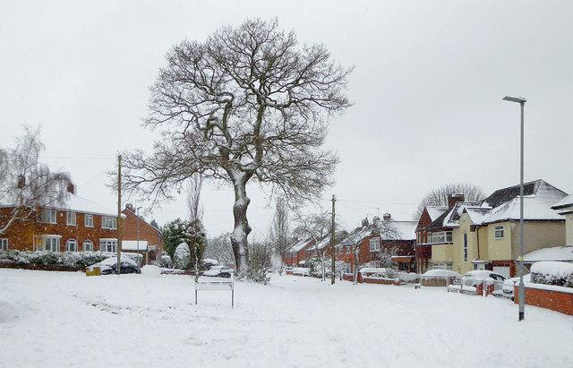 Snowing in Penn, Wolverhampton