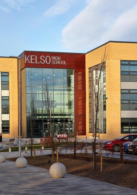 Kelso High School Main Entrance