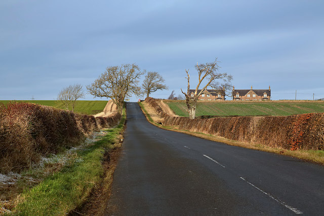 The A6112 at Simprim