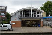 TL4559 : Fitzwilliam Boathouse by N Chadwick