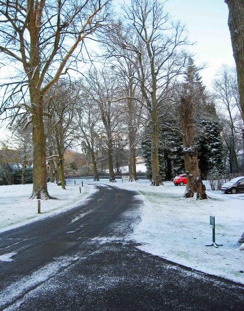 The Elms access drive, off Stockton Road, Abberley, Worcs