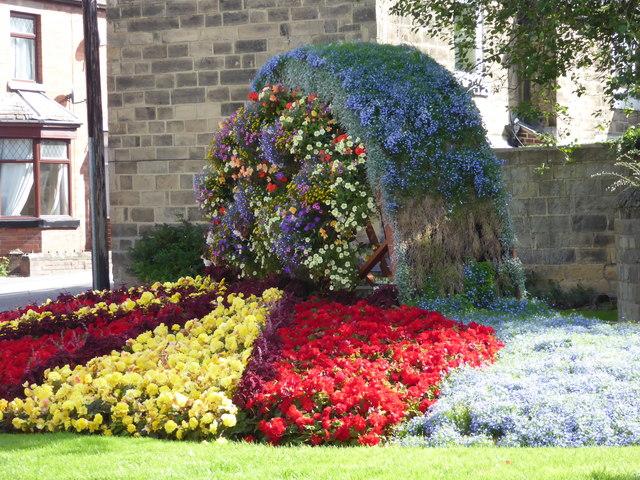 Floral display - Belper