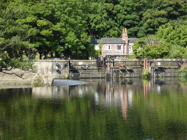 Across the Derwent, Belper