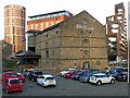 SE2933 : Former Leeds and Liverpool Canal warehouse by Alan Murray-Rust