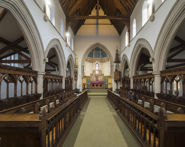 All Hallows Convent Chapel, Ditchingham - East end