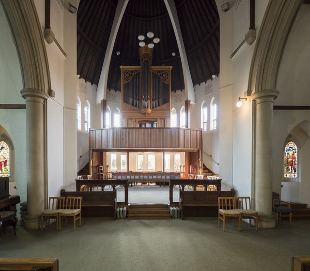 All Hallows Convent Chapel, Ditchingham - West end
