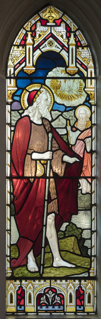 All Hallows Convent Chapel, Ditchingham - Stained glass window