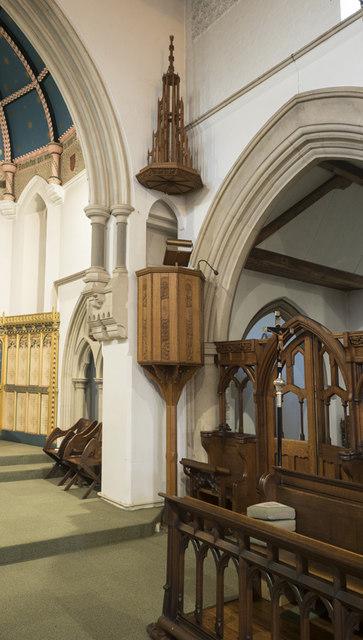 All Hallows Convent Chapel, Ditchingham - Pulpit