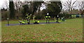 SO8005 : Outdoor exercise equipment in Laburnum Park recreation ground, Stonehouse by Jaggery