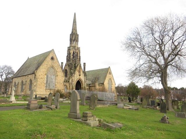 Chapels in St John's Cemetery, Elswick, Newcastle upon Tyne