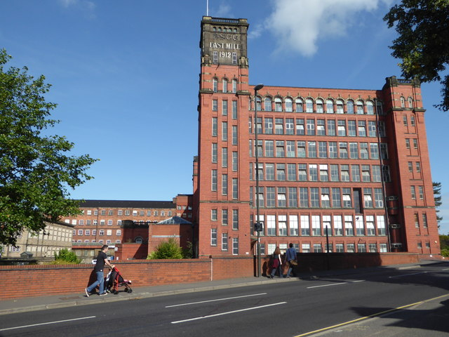 North and East Mills, Belper