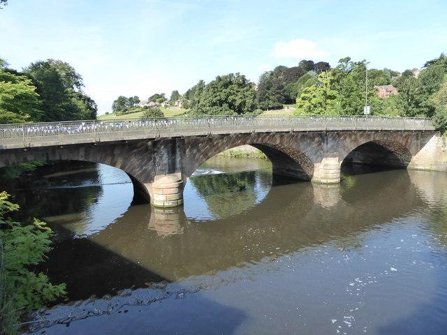 Bridge over the River Derwent, Belper