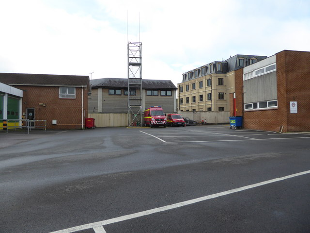 Newton Abbot Fire Station and Ambulance Station