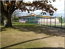 SO7845 : Malvern St James Fitness Centre by Philip Halling