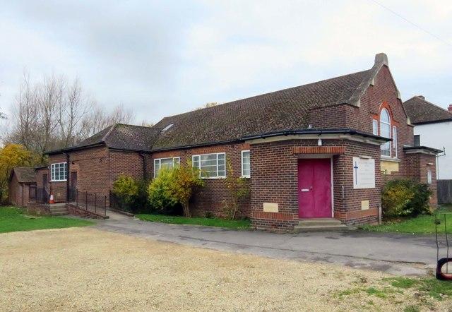 South Oxford Baptist Church on Wytham Street