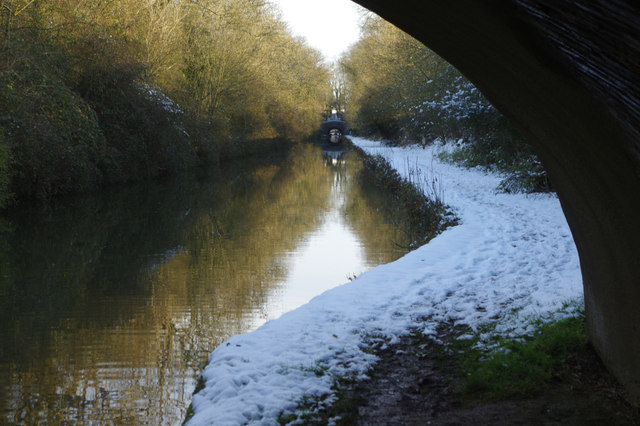 Oxford Canal from Fall's Bridge