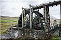 NY8242 : Water wheel at Killhope Lead Mine Museum by Ian Knox