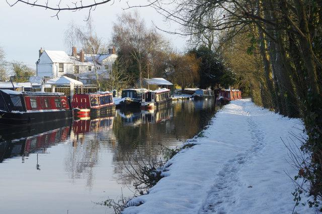 Oxford Canal near Fall's Bridge