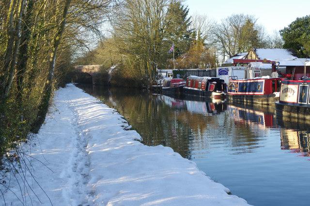 Fall's Bridge Wharf, Oxford Canal