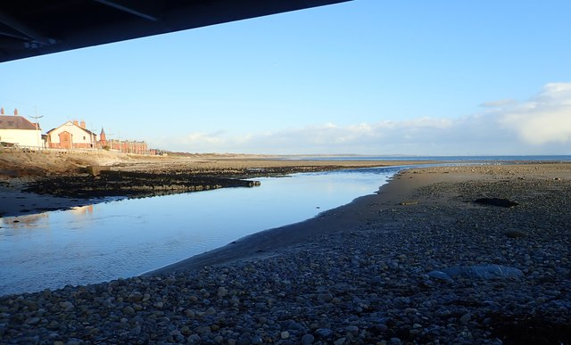 The Shimna Estuary at Low Water